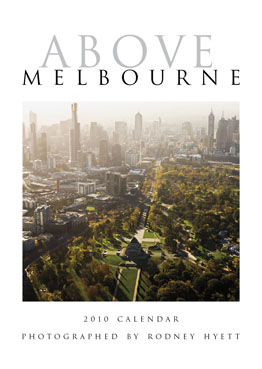 Above Melbourne Calendar comprising aerial photographs.